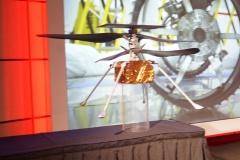 2020 Mars Helicopter 'Ingenuity' model