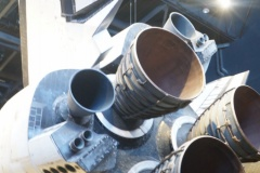Space Shuttle Atlantis Rocket Engines