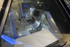 Shuttle cockpit mockup